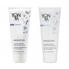 Почистваща и озаряваща маска за лице Yon-Ka MASQUE 103 и 105 100ml