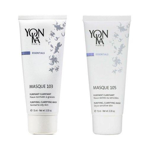Почистваща и озаряваща маска за лице Yon-Ka MASQUE 103 и 105 100мл.