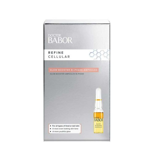 Двуфазни ампули за лице за подмладяване и блясък Babor Glow Booster 7x1ml