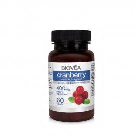 Червена боровинка (органична) Biovea Cranrerry 400mg