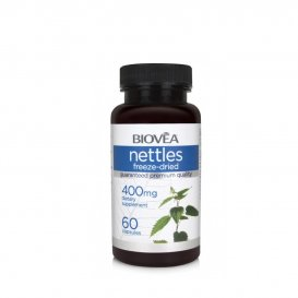 Коприва - естествен противоалергетик Biovea Nettles 400mg