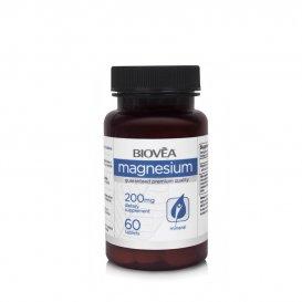Подпомага мускулните функции Biovea Magnesium 200mg