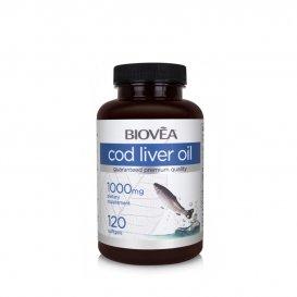 Рибено масло от черен дроб на треска Biovea 1000mg
