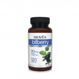 Подобрява зрението Biovea Bilberry 120 капсули