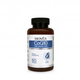 Мощен антиоксидант и имуностимулатор Biovea Q10+Red Yeast Rice