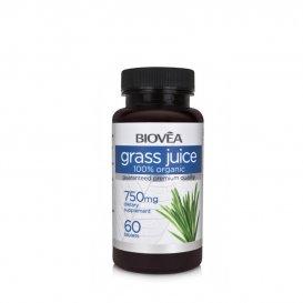 Органичен сок от трева Biovea 750ml
