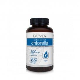 Природна супер-храна Biovea Chlorella 500mg