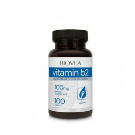 Витами В2 за храносмилането Biovea Vitamin B2 100mg