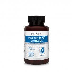 Намалява стреса Biovea Vitamin B-50 50mg