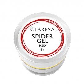 Spider Gel Червен CLARESA 5g