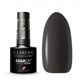 Гел лак CLARESA 901 Black 5g