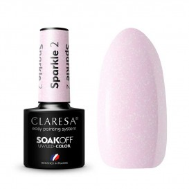 Гел лак CLARESA 2 Sparkle 5g