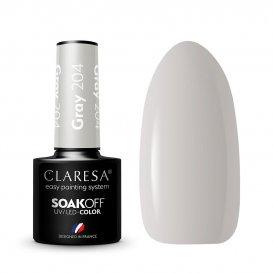 Гел лак CLARESA 204 Gray 5g
