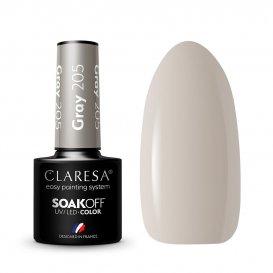 Гел лак CLARESA 205 Gray 5g