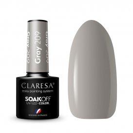Гел лак CLARESA 209 Gray 5g