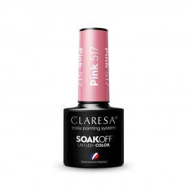Гел лак CLARESA 517 Pink 5g