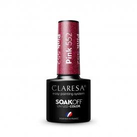 Гел лак CLARESA 552 Pink 5g