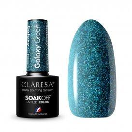 Гел лак CLARESA Galaxy Green 5g