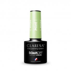 Гел лак CLARESA 1 Mint 5g