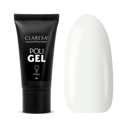 Поли гел за Прозрачен CLARESA POLI GEL CLEAR 60g