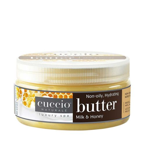 Крем масло за ръце и тяло с мед и мляко Cuccio Butter 42gr