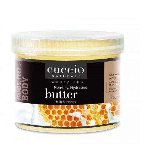 Крем масло за ръце и тяло с мед и мляко Cuccio Butter 750gr