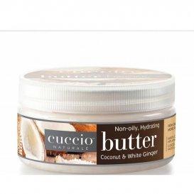 Крем масло за ръце и тяло с кокос и джинджифил Cuccio Butter 42gr