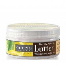 Крем масло за ръце и тяло с бяла лимета и алое Cuccio Butter 42gr