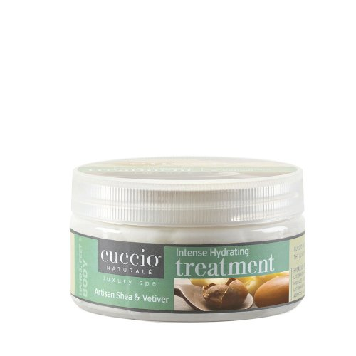 Маска с масло от шея срещу напукани стъпала Cuccio Treatment 227gr