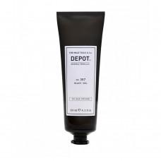 Черен гел за коса за мъже Depot 307 Black Gel 125 ml