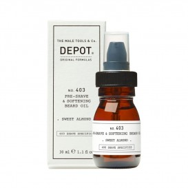 Масло за брада Depot 403 Pre Shave and Softening Bread Oil fresh black pepper 30ml