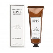 Интензивен крем-шампоан против пърхот за мъже Depot 106 Dandruff Controll Intensive Cream Shampoo 125 ml