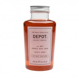 Нежен душ гел за мъже Depot 601 Gentle Body Wash fresh mystic amber 250ml