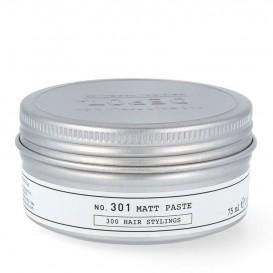 Матираща паста с въглен и силна фиксация Depot 312 Charcoal paste 75ml