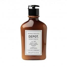 Шампоан за себум контрол с клей  за мъже Depot 107 White Clay Sebum Control Shampoo 250ml