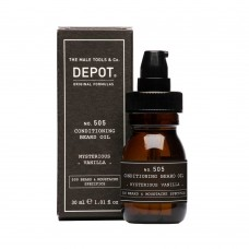 Луксозно масло за брада Depot 505 Conditioning Bread Oil mysterious vanilla 30ml