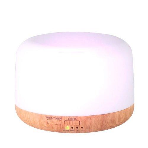 Дифузер за етерични масла светло дърво SPA 01 300ml + таймер