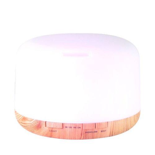 Дифузер за етерични масла светло дърво SPA 03 500ml + таймер