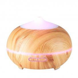 Дифузер за етерични масла светло дърво SPA 06 400ml + таймер