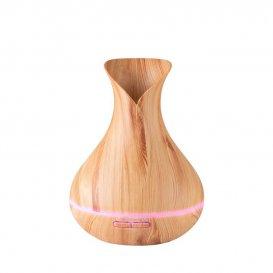 Дифузер за етерични масла светло дърво SPA 15 400ml + таймер
