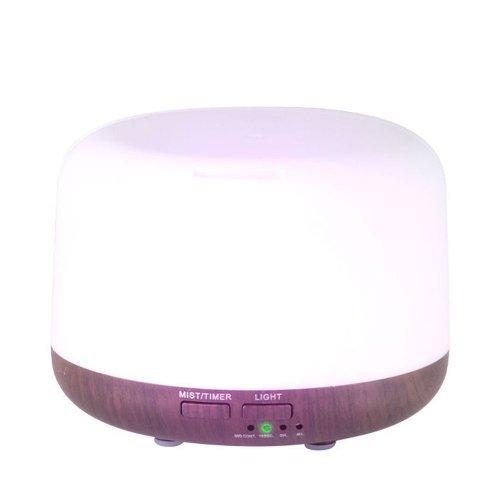 Дифузер за етерични масла тъмно дърво SPA 01 300ml + таймер
