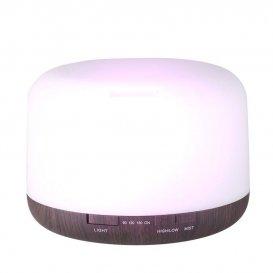 Дифузер за етерични масла тъмно дърво SPA 03 500ml + таймер