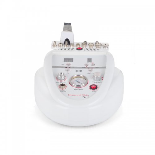 Козметични апарати - Комбиниран апарат 2в1 диамантено дермабразио+ултразвукова шпатула