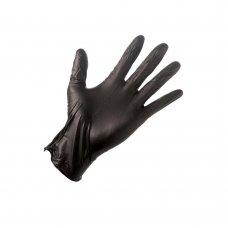 Ръкавици нитрил черни 100 бр
