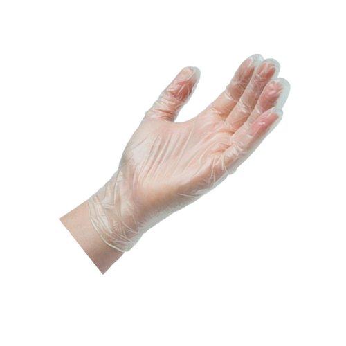 Ръкавици винил без пудра 100 бр