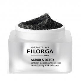 Екфолираща пяна с активен въглен Filorga Scrub Detox 50ml