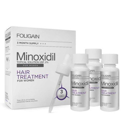 Терапия против косопад за жени Foligain 2% Minoxidil Topical Solution USP