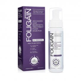 Пяна за жени против косопад с Миноксидил 5% Foligain Advanced Hair Regrowth Treatment Foam 177ml