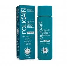 Стимулиращ шампоан за коса с Миноксидил 2% + Триоксидил 2% Foligain Advanced Hair Regrowth 236ml