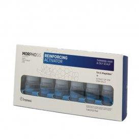 Ампули против косопад за мъже Framesi Morphosis Reinforcing Activator 12 x 7ml